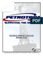 Petrotrim Services General Product Catalog, API-6A Equipment