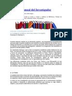 Manual Del Investigador