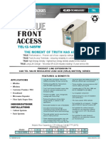 C&D True front access User guide manual