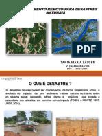 Mapeamento de desastres