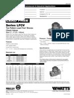 LFCV, LFCVS Specification Sheet