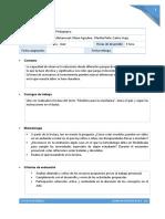 Descripción de Tareas y Actividades2 Texto