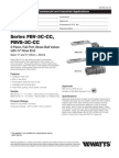 FBV-3C-CC, FBVS-3C-CC Specification Sheet