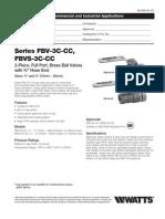 FBV-3C-CC, FBVS-3C-CC Specification Sheet