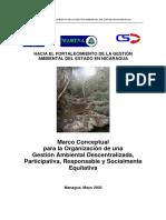 Haciafortalegestion Ambiental Nicaragua