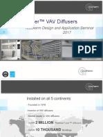 VAV Diffuser Slide