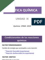 9- UNIDAD IX. Cinetica Química