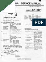 Ce126p Service Manual