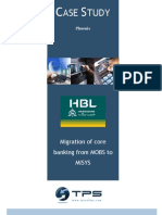 Hbl Migration of Core Banking Application