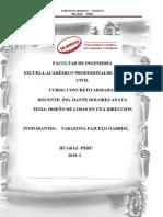 Diseño de Lozas en Una Direccion- Imprimirr