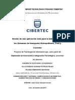 Diseño de una aplicación para la integración de los Sistemas de transporte.doc