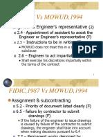 FIDIC vs MOWUD.ppt