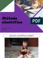 1 Método Científico 2019
