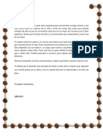 Carta a Mi Esposa Emaus