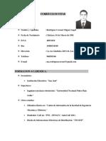 Currículum Vitae Marc