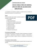 7 Contratacion Consultoría en General y Obra Adjudicación Simplificada