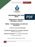 Prepaesufg 2019 Estudios Sociales