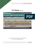 Hyslicer Manual