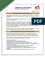 Informativo Rotário