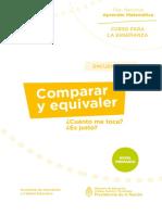 1.1. Nivel Primario - Curso Para La Enseñanza Matemática - Encuentro 2 - Comparar y Equivaler