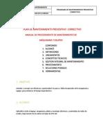 Plan de Mantenimiento Correctivo y Preventivo