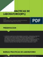 Buenas Practicas de Laboratorio(Bpl)