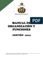 Manual Organizacion Funciones 2014 0