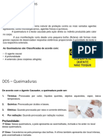 DDS - Queimaduras