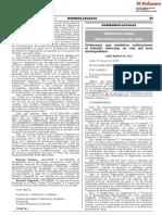 Ordenanza 2164 (2019) - Ordenanza que establece restricciones al tránsito vehicular en vías del área metropolitana