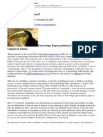 what is representation - Peirce.pdf