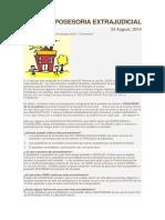 DEFENSA POSESORIA EXTRAJUDICIAL-2017.docx