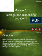 Storage dispensing