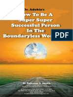 Dr. Adukia How to Be a .... Boundryless World 7-1-19