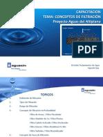 Conceptos de la Filtración de Agua