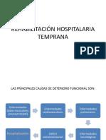 Rehabilitación Hospitalaria Temprana