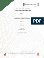 Unidad 2 Diseño de Elementos de Acero