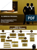 Tema 1 Introduccion Al Derecho Procesal Dr.aguilar