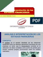 Análisis e Interpretación de Los EEFF