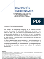 Polarización Potenciodinámica Expo..