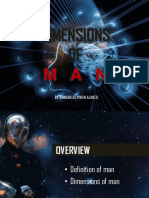 Dimensions of Man Ppt