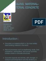 Self Healing Material Bacterial Concrete (1)