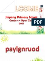 Jinyang Grade4 B