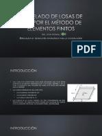 Modelado de Losas de Hºaº Por El Método de elementos finitos