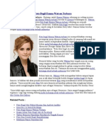 Foto Bugil Emma Watson Terbaru