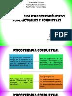 Estrategias Psicoterapeuticas Conductuales y Cognitivas