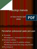 Psikologi Manula