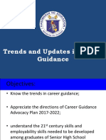 Trends and Updmates in Career Guidance