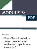 Module 5 Stress