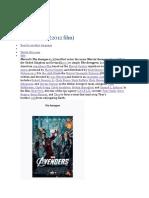Avangers PDF