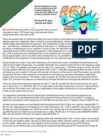 RFI - Tip Sheet